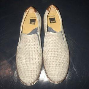 J&M (Johnston & Murphy) sheepskin loafers